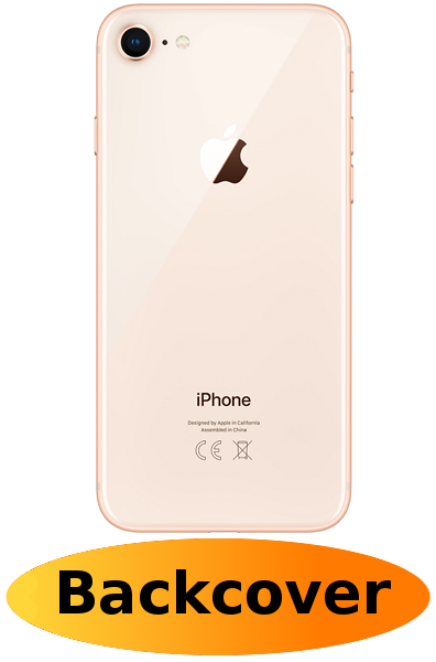 iPhone 8 Reparatur: Backcover Gold