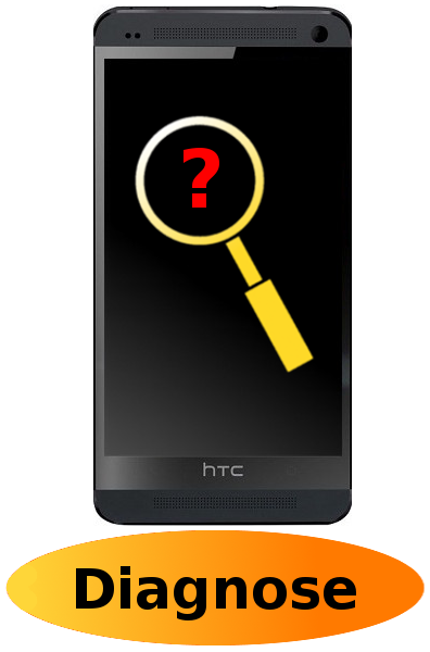 HTC One M7 Reparatur: Diagnose + Behandlung