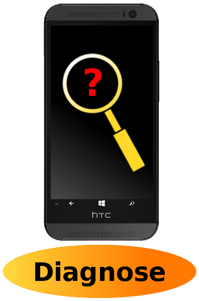 HTC One (M8) Reparatur: Diagnose + Behandlung