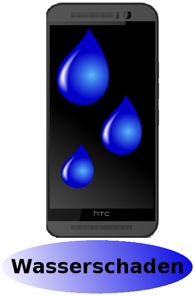 HTC One M9 Reparatur: Wasserschaden Diagnose + Behandlung