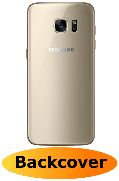 finest selection 32e3c 41b33 Samsung S7 Edge Repair: Back Cover Gold