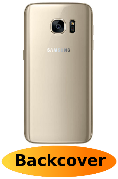 Samsung S7 Reparatur: Backcover Gold