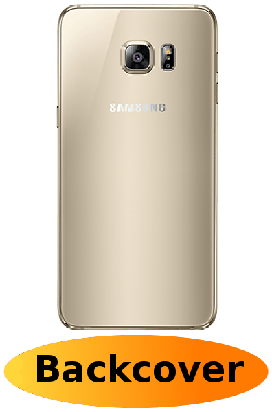 Samsung S6 Edge Plus Reparatur: Backcover Gold