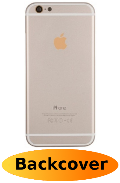 iPhone 6 Reparatur: Backcover Gold