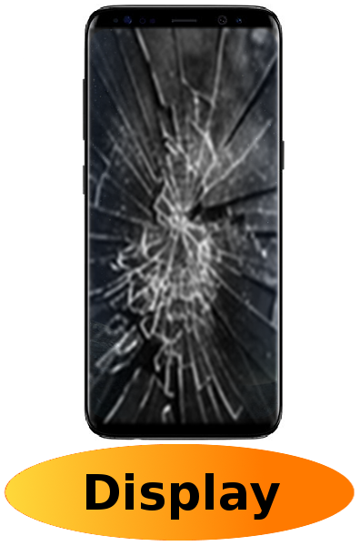 Samsung S8 Reparatur: Glas + Touchscreen + LCD Display