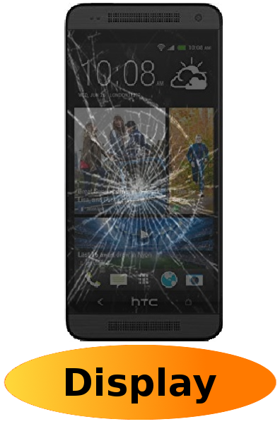 HTC One Mini Reparatur: Glas + Touchscreen + LCD Display