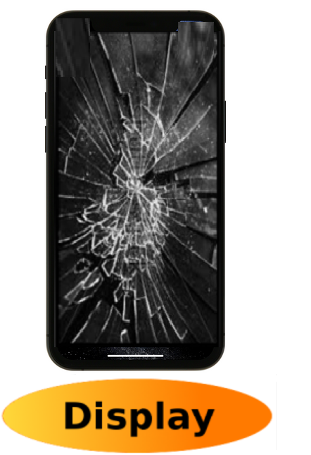 iPhone 11 Pro Max Reparatur: Glas + Touchscreen + LCD Display