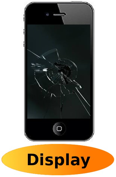 iPhone 4s  Reparatur: Glas + Touchscreen + LCD Display