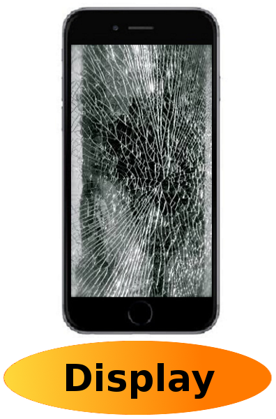 iPhone 6 Reparatur: Glas + Touchscreen + LCD Display