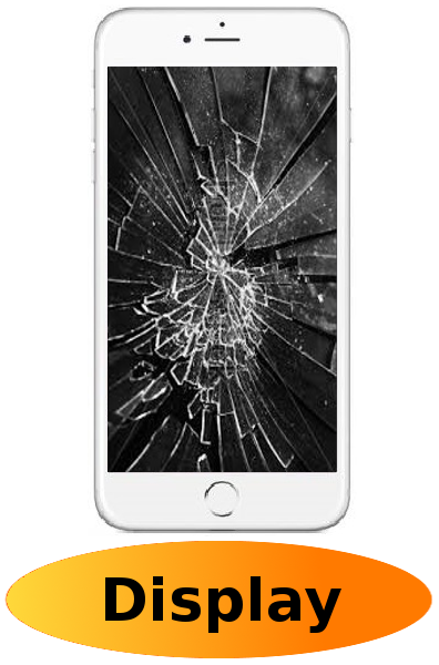 iPhone 6 Reparatur: Glas + Touchscreen + LCD Display Weiß
