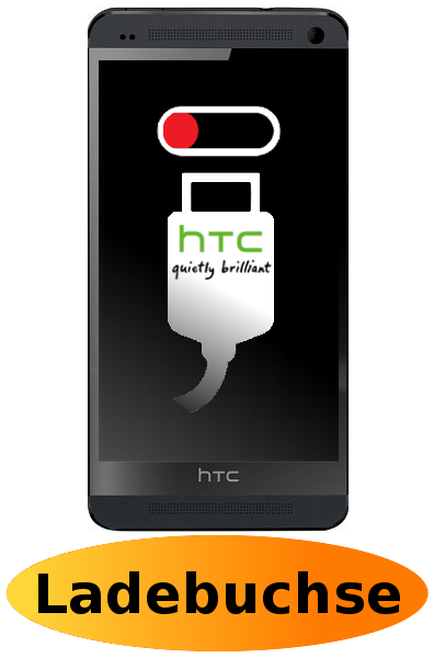 HTC One M7 Reparatur: Ladebuchse / Ladeport