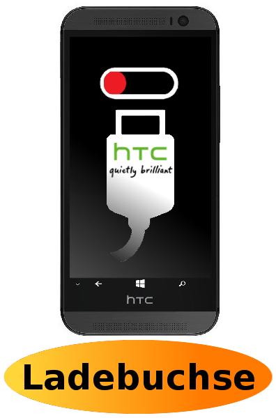 HTC One (M8) Reparatur: Ladebuchse / Ladeport