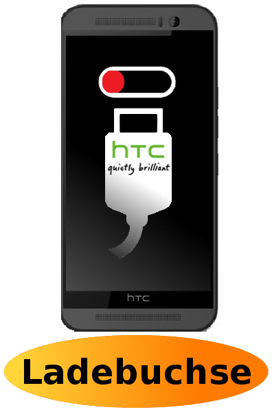 HTC One M9 Reparatur: Ladebuchse / Ladeport