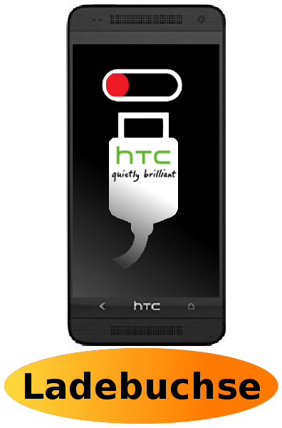 HTC One Mini Reparatur: Ladebuchse / Ladeport