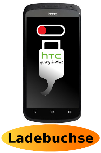 HTC One S Reparatur: Ladebuchse / Ladeport