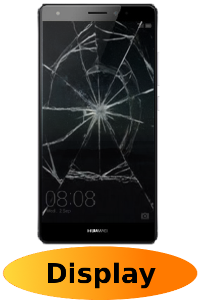 Huawei Mate S Reparatur: Glas + Touchscreen + LCD Display