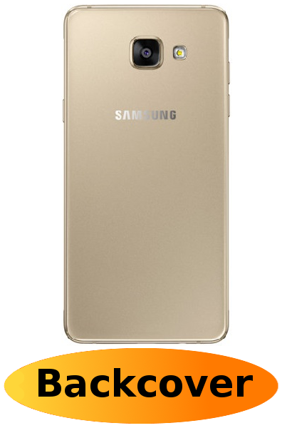 size 40 02824 e9c2d Samsung A3 2016 Repair: Back Cover Gold