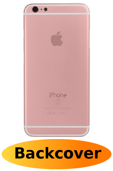 detailed look 580e7 2d8af iPhone 6s Plus Repair: Back Cover Rose Gold